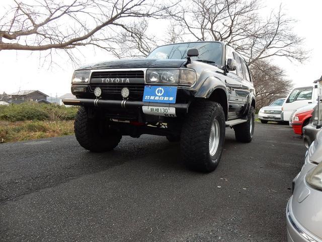トヨタ ランドクルーザー80 VXリミテッド改造貨物11 NO 4WD サンルーフ AT