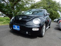 VW ニュービートルプラス 左ハンドル レザーシート アクセサリ−付 ブラック
