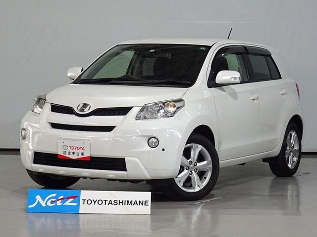 トヨタ イスト 150G ワンオーナー 記録簿 ETC 4WD 盗難防止システム