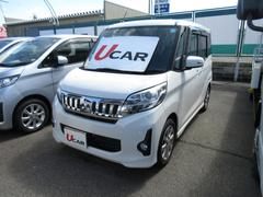 eKスペースカスタムカスタムG 4WD 純正ナビ TV ETC ディスチャージ