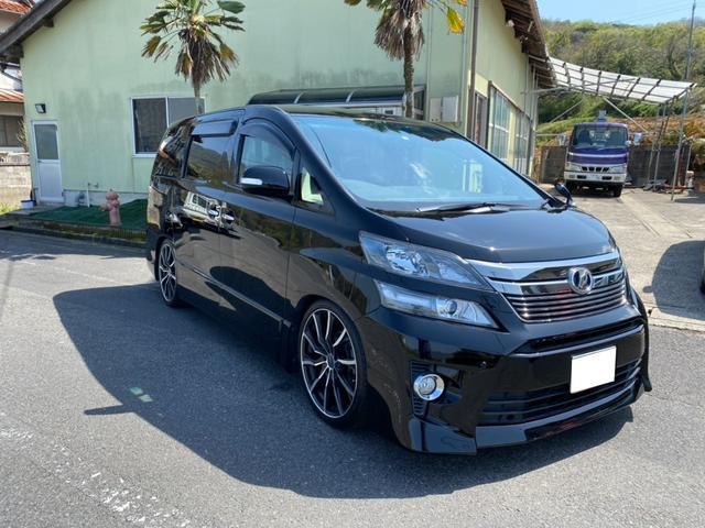 トヨタ 2.4Z ワンオーナー ナビTV 両側パワースライドドア バックカメラ エアロ ETC
