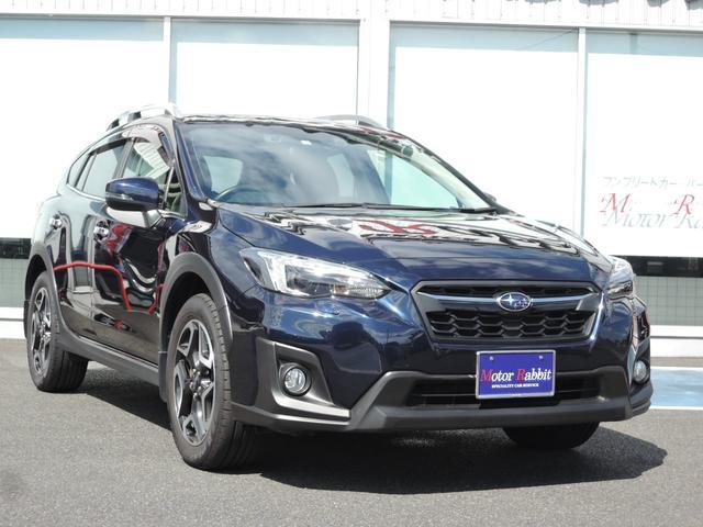 スバル 2.0i-S アイサイト ブラックレザーセレクション・運転席助手席パワーシート&シートヒーター・LEDライト・18インチアルミ・クルーズコントロール・ルーフアンテナ・OPパナソニックナビ・RカメラETC・1オーナー・4WD