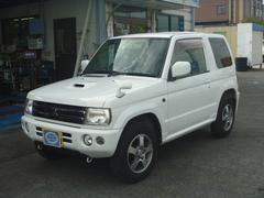 パジェロミニアクティブフィールドエディション 4WDターボ キーレス