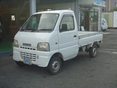 キャリイトラックKU 4WD 5MT エアコン パワステ 三方開