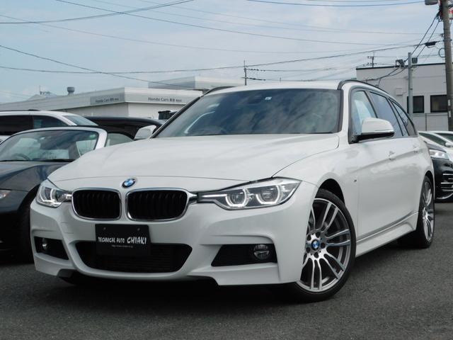 BMW 318iツーリング Mスポーツ 19インチOPアルミホイール クルーズコントロール オートテールゲート ETC2.0 リアビューカメラ インテリジェントセーフティ コンフォートアクセス 純正HDDナビ LEDヘッドライト