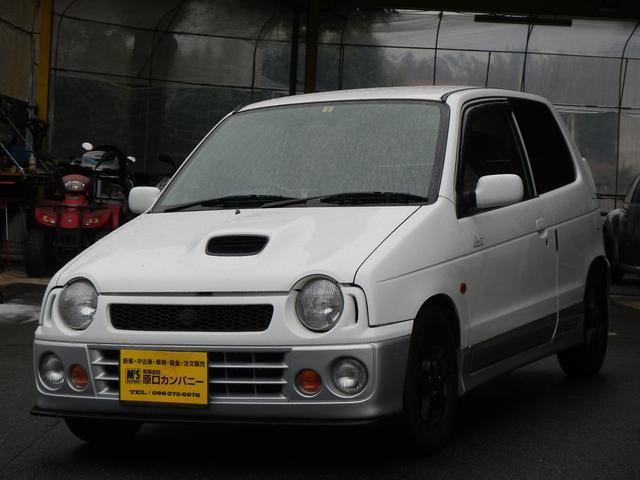 スズキ ターボie/s 新品車高調 オートマミッションリビルト交換済