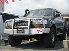 ランドクルーザー80VXリミテッド ディーゼルターボ 4WD 背面タイヤ