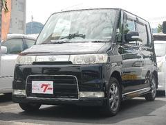 タントカスタムX アルミホイール・エアロ・HIDライト・電格ミラー