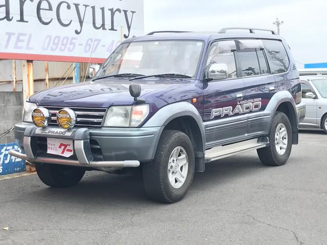 トヨタ ランドクルーザープラド TX ディーゼル 4WD ETC CD キーレス フル装備