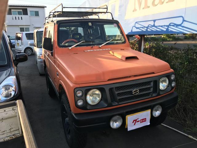 スズキ ランドベンチャー インタークーラーターボ 4WD AW ルーフキャリア CD AUX ETC AT AC PS リフトアップ