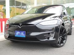 テスラ モデルX100D 完全自動運転 黒革 7シート 22アルミ