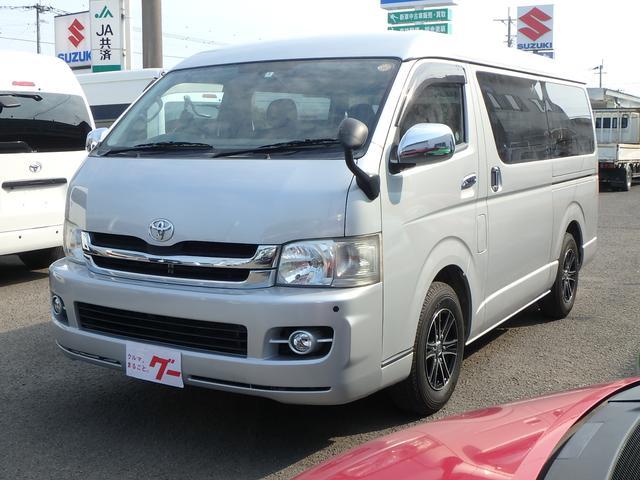 トヨタ ロングワイドスーパーGL ミドルルーフ HDDナビ ETC