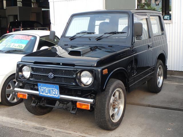 スズキ ワイルドウインドリミテッド 4WD 5速MT バンバーガード