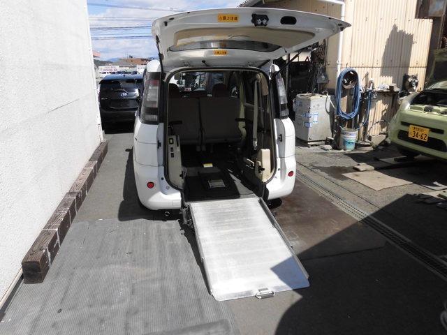 トヨタ X ウェルキャブ スロープタイプ タイプI 電動固定装置付