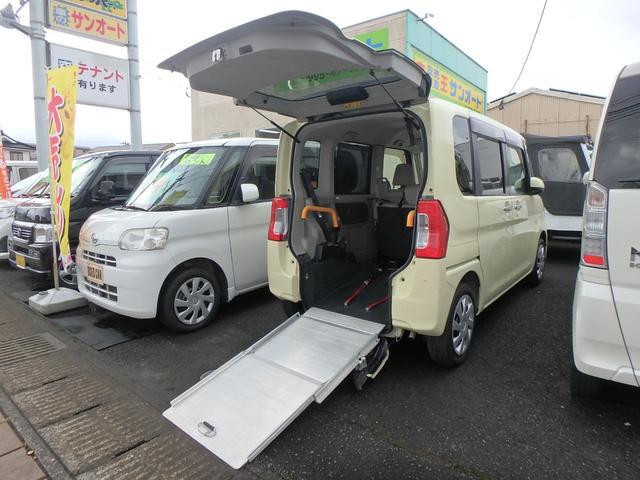 ダイハツ タント カスタムX SAII フル装備 運転席・助手席・サイドエアバック ABS