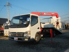 キャンター2600kg積載車 180馬力 V2903段ユニック ターボ