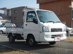 サンバートラックTC 5MT エアコン パワステ 4WD カセット 作業灯