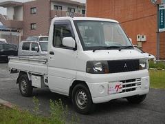 ミニキャブトラックエアコン パワステ 4WD 5MT 荷台作業灯