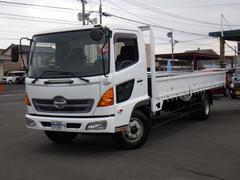 ヒノレンジャー平ボディ 4.7D 4.1トン積 6速 NOxPM適合車