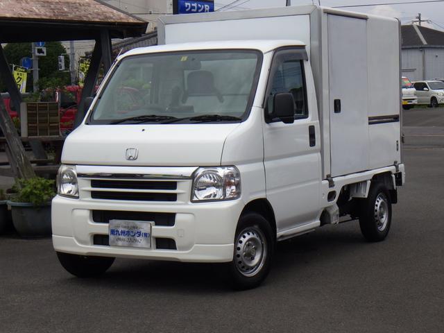 ホンダ 軽冷凍車 -7℃設定 ナビ ETC  バモスフェイス