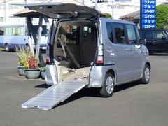 N BOX+G 車いす仕様車 車いす用電動ウィンチ スローパー