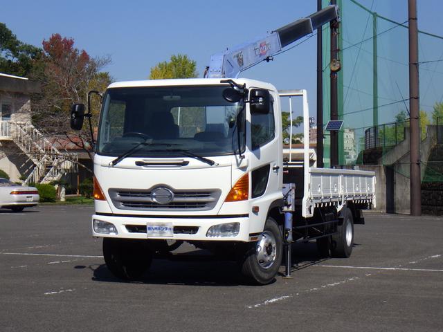 日野 タダノ3段クレーン 3トン積み 4.7ディーゼルターボ