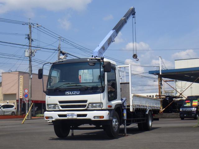 いすゞ  タダノ3段クレーン ラジコン付き 2.9トン積み NOx適合車