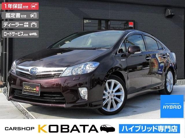 トヨタ G ASパッケージ 本革シート 純正HDDナビ 1年保証付