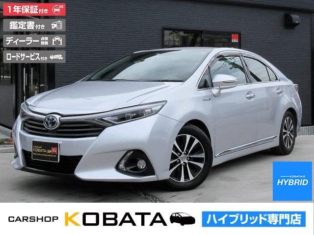 トヨタ G Aパッケージ 本革シート 純正SD地デジナビ 1年保証付