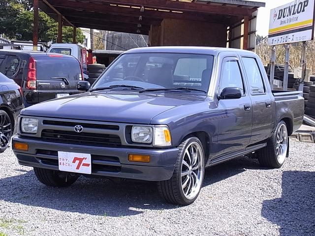 トヨタ WキャブDX コラムミッション ベンチシート 6人 19AW
