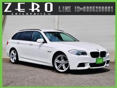 BMW523iツーリングMスポーツP HDDナビ ワンオーナー