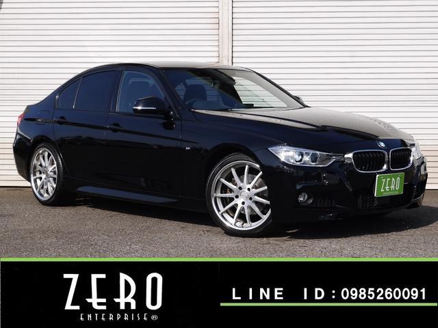 BMW 320i Mスポーツ SSR19インチAW/ワンオーナー/フルセグ地デジ/HDDナビ/Bカメラ/ETC/インテリジェントセーフティ-