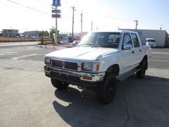 ハイラックスピックアップダブルキャブ SSR 4WD