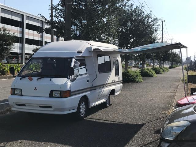 三菱 キャンピングカー OMNISTORサイドオーニング