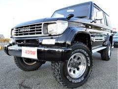 ランドクルーザープラド3.0SXワイド 4WD 1ナンバー サンルーフ MTタイヤ