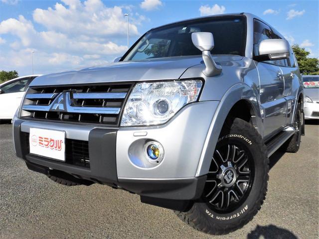 三菱 ロング エクシード 4WD ナビTV Bカメラ リアエアコン