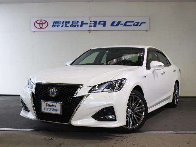 トヨタ アスリートG 当社試乗車 サポカーSワイド 本革シート