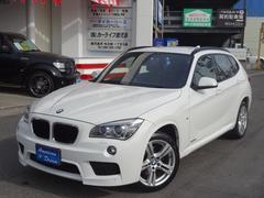 BMW X1sDrive 18i Mスポーツ 純正HDDナビ TV