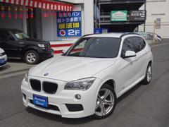 BMW X1sDrive 18i Mスポーツ ワンオーナー 社外ナビ