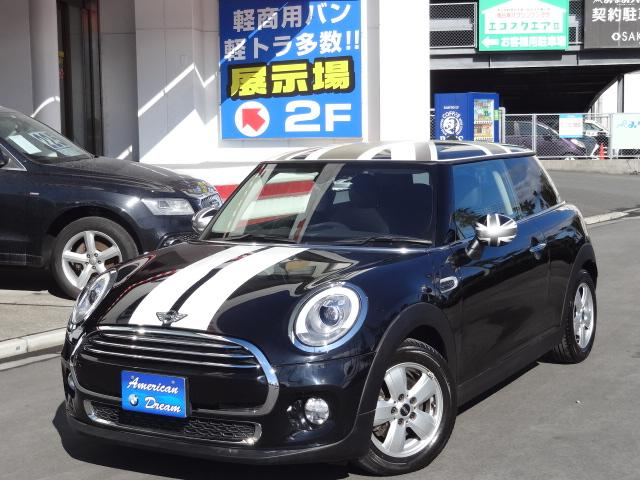 MINI クーパー サザークシャープスタイル 黒革 延長保証対象車