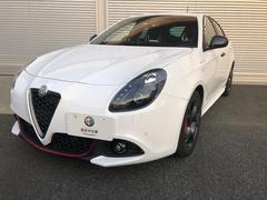 アルファロメオ ジュリエッタヴェローチェ 新車保証継承 自社デモカー 純正ナビ ETC