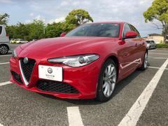アルファロメオ ジュリアスーパー 新車保証継承 シートヒーター ステアリングヒーター