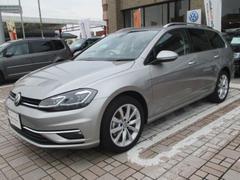 VW ゴルフヴァリアントTSI コンフォートライン 試乗車 禁煙 バックモニタ