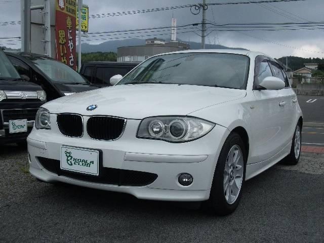 BMW 118i プッシュスタート 社外ワンセグナビ ETC