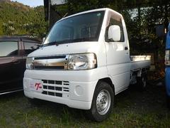 ミニキャブトラックエアコン パワステ 4WD 5MT CDデッキ 14iアルミ