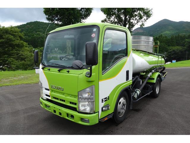 いすゞ エルフトラック  3tバキュームカー