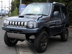 ジムニーワイルドウインド リフトアップ 4WD 社外マフラー ターボ