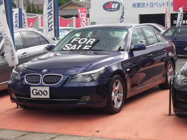 BMW 525i HIDライト 純正DVDナビ ETC ディーラー車