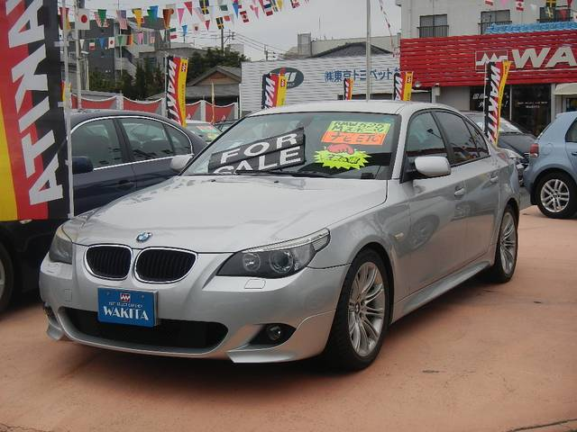 BMW 525i Mスポーツパッケージ HDDナビ ディーラー車