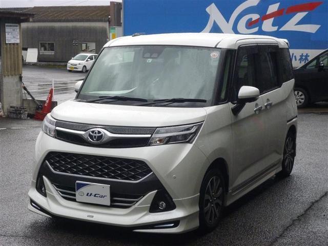トヨタ タンク カスタムG-T ワンオーナー車 衝突軽減ブレーキ 両側電動スライドドア ナビフルセグTV スマートキー ETC LEDヘッドライト